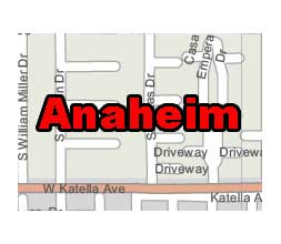 Anaheim Ca Zip Code Map.Anaheim City Vector Map Anaheim Zip Code Map 14mb Lossless