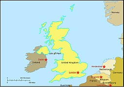 United Kingdom Free Vector Map Lossless Scalable AIPDF Map For - United kingdom map hd pdf