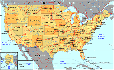 Prewiev Of USA Vector Map Mercator Projection Lossless Scalable - Map of us pdf