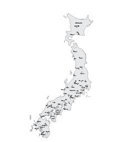 Japan free map