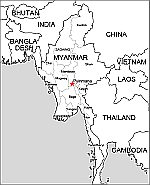 Myanmar free eps map