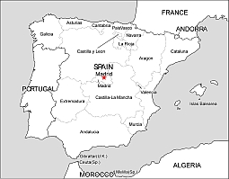 Map Of Spain Vector Free.Editable Royalty Free Map Of Spain In Vector Graphic Online Store