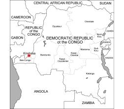 Congo, democratic republic eps file