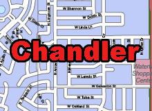 Chandler vector map