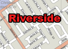 Riverside printable map