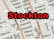 Stockton vector map