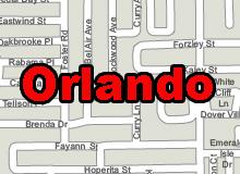 Orlando vector map