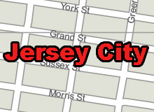 Jerseycity vector map