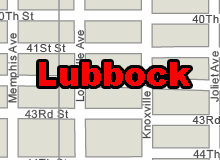 Lubbock vector map