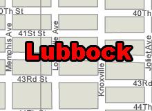 Lubbock vector map