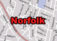 Norfolk vector map