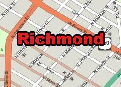Richmond vector map