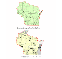 Counties of Wisconsin