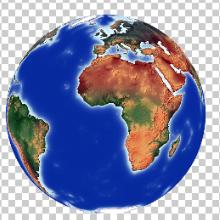 Prime Meridian in center,